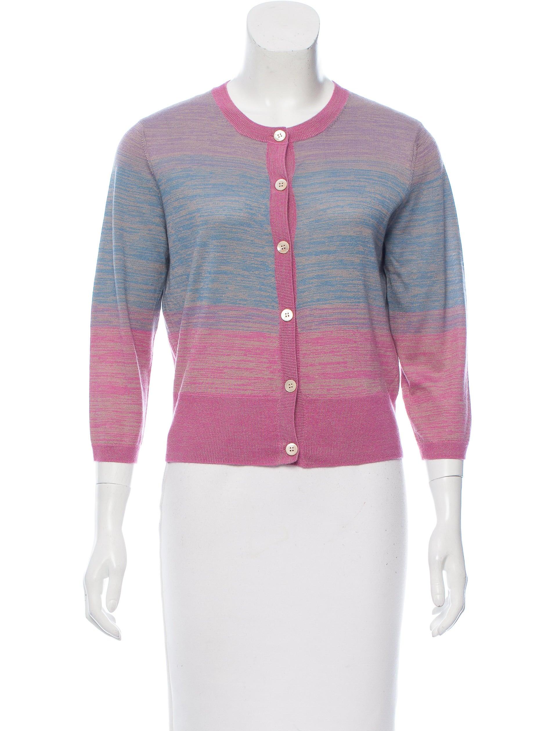 Dries Van Noten Silk & Cashmere-Blend Cardigan - Clothing ...