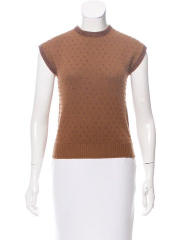 Dries Van Noten Embellished Cashmere Sweater None