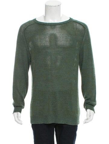 Dries Van Noten Linen-Blend Sweater None