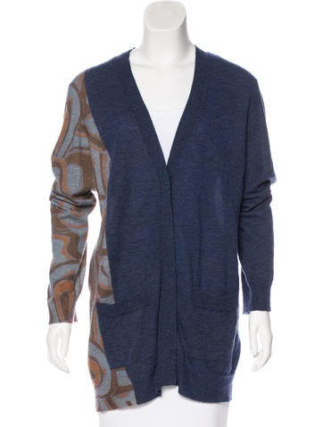 Dries Van Noten Wool & Alpaca-Blend Cardigan None