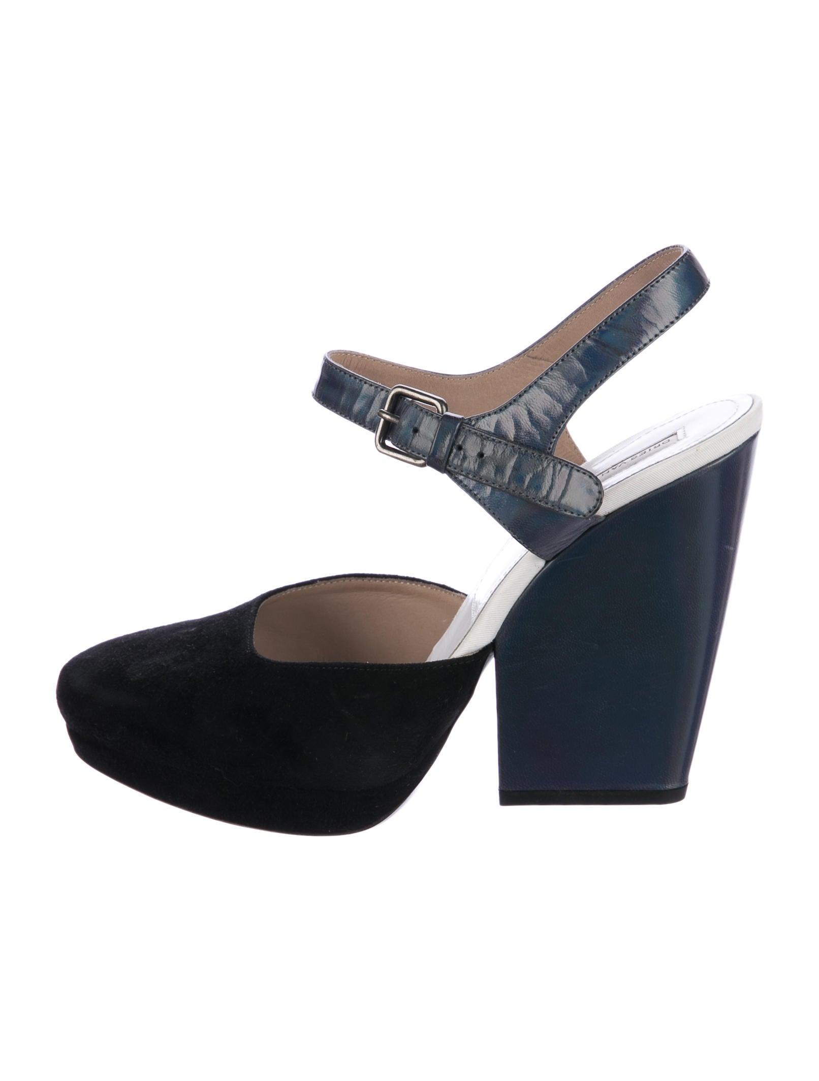 Dries Van Noten Suede Holographic Sandals cheap sale largest supplier great deals discount codes shopping online YlChBtMye