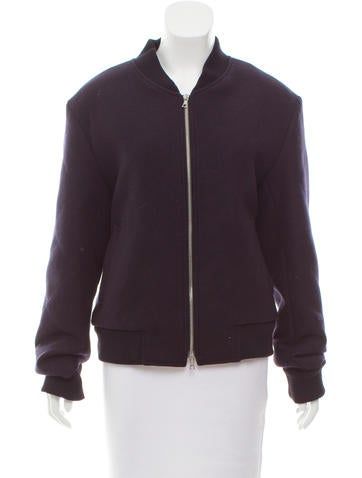 Dries Van Noten Wool Bomber Jacket None