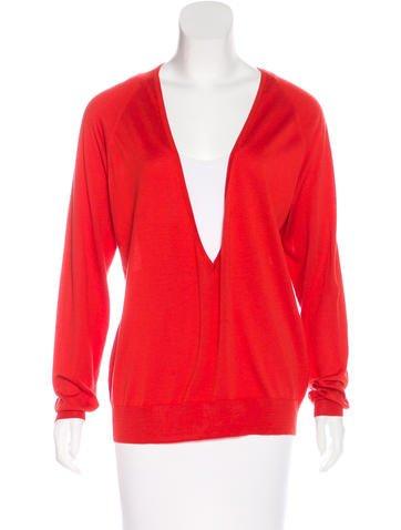 Dries Van Noten Silk-Blend Knit Sweater None