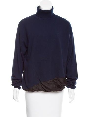 Dries Van Noten Cashmere Turtleneck Sweater w/ Tags None