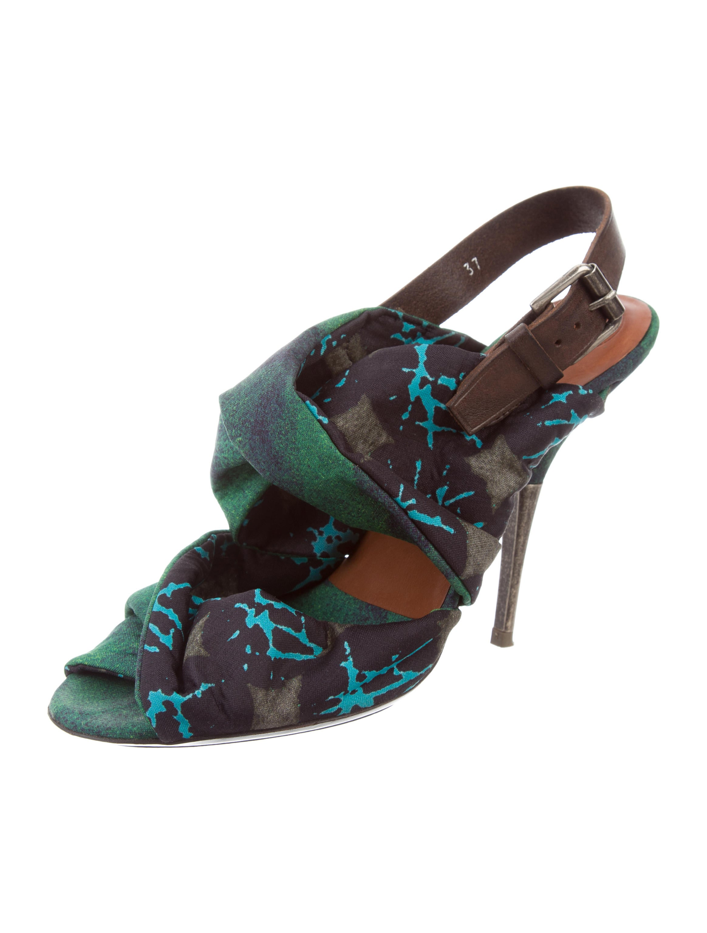 Dries Van Noten Woven Abstract Sandals sale free shipping wzIvQz