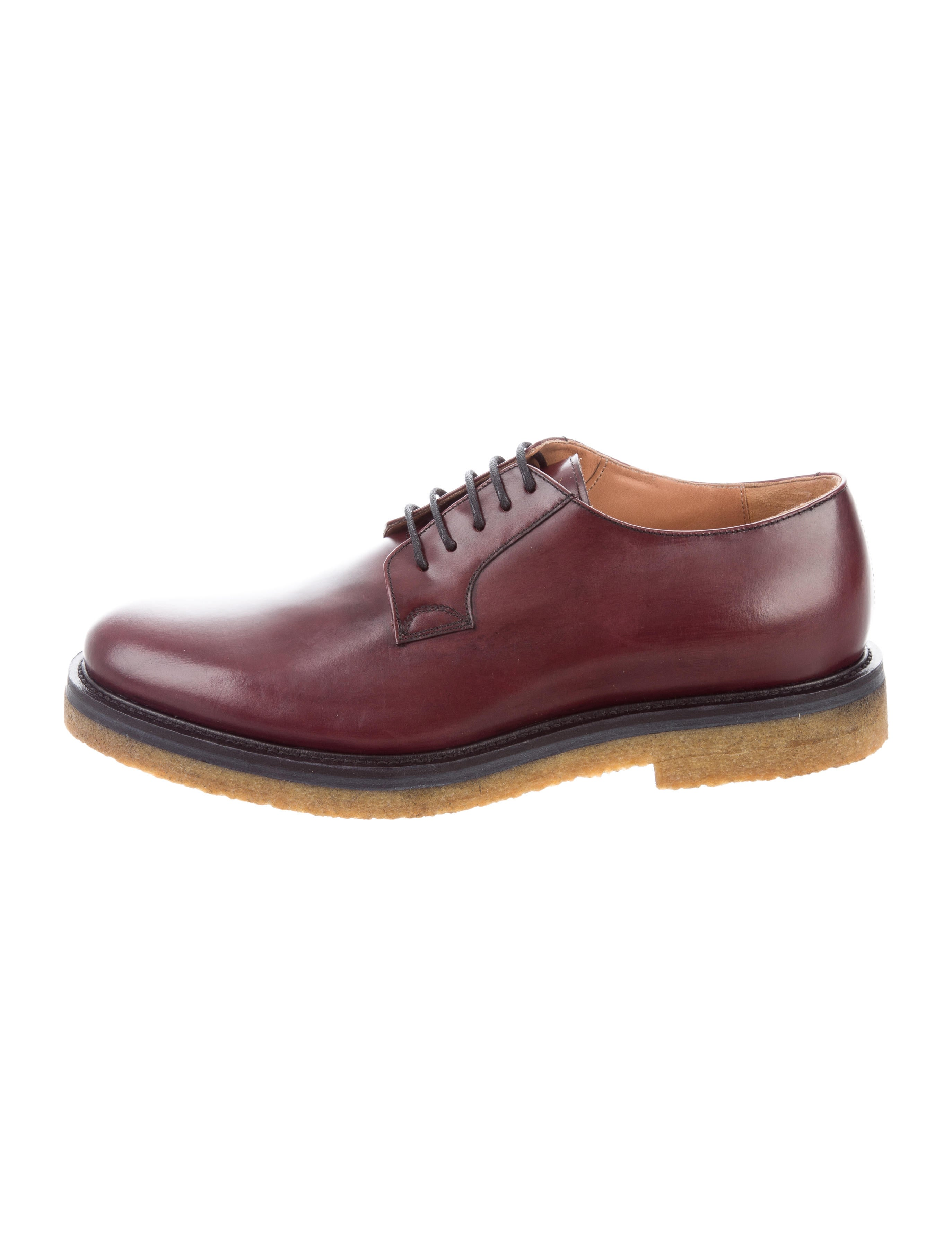 Dries Van Noten Leather Lace-Up Oxfords w/ Tags cheap sale 100% guaranteed clearance new cThgCS
