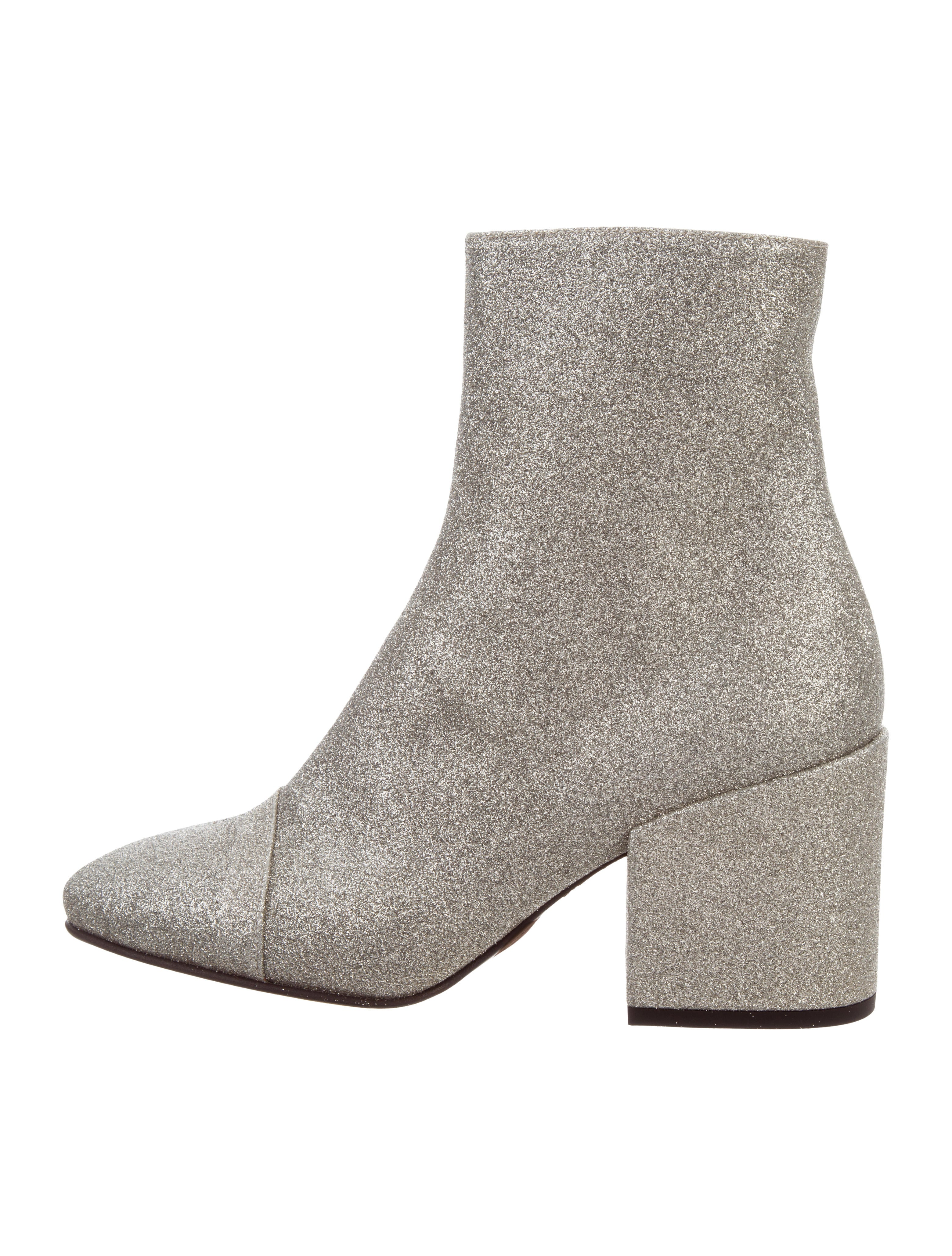Dries Van Noten Glitter Ankle Boots w/ Tags in China cheap price footlocker sale online xUYzZZE