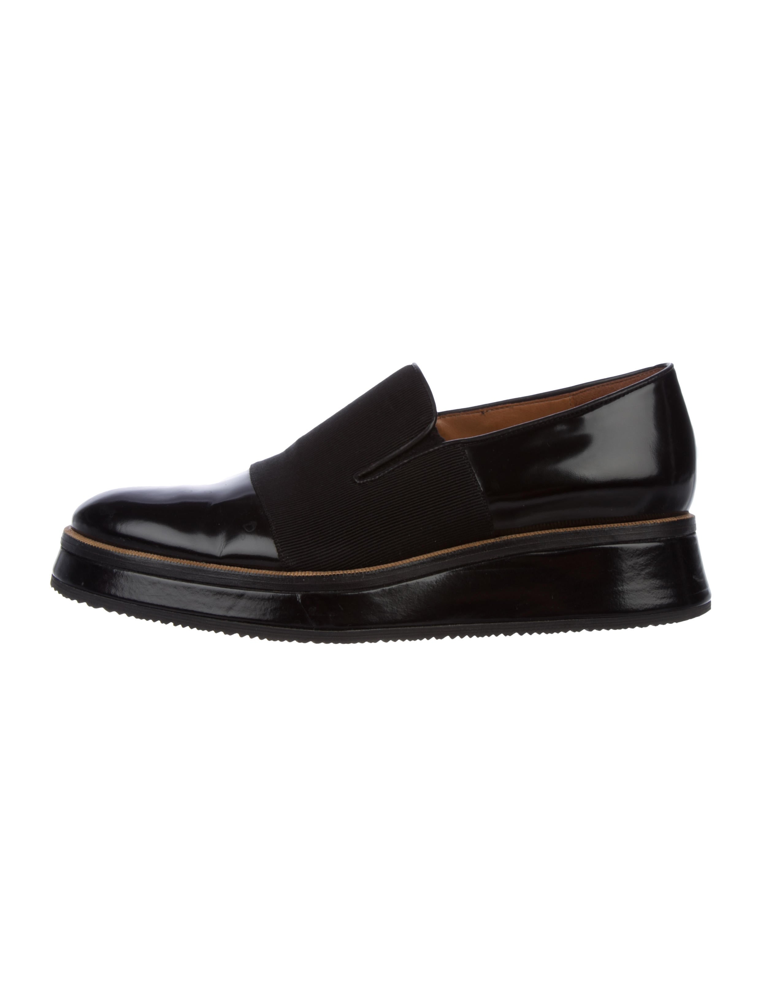 6b3a6a43c60 Dries Van Noten Leather Round-Toe Loafers - Shoes - DRI48283