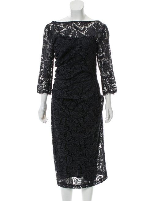 Dries Van Noten Lace Midi Dress