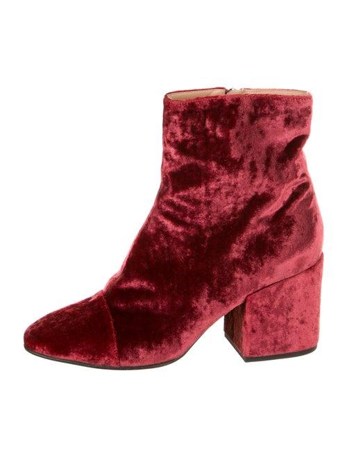 Dries Van Noten Boots Red
