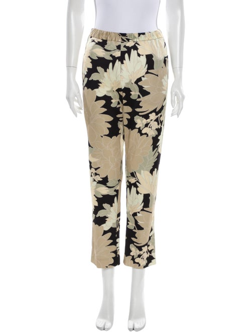Dries Van Noten Printed Straight Leg Pants