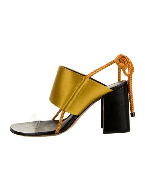 Dries Van Noten Sandals Yellow