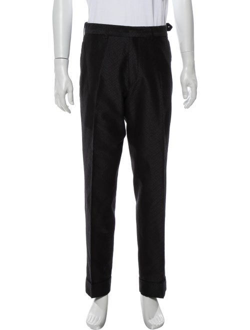 Dries Van Noten Printed Pants Black