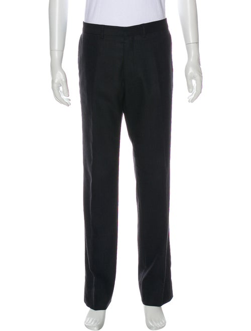 Dries Van Noten Wool Dress Pants Wool