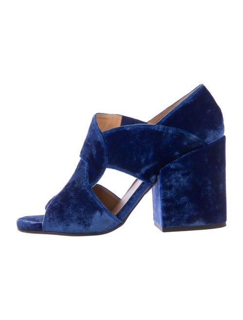 Dries Van Noten Sandals Blue