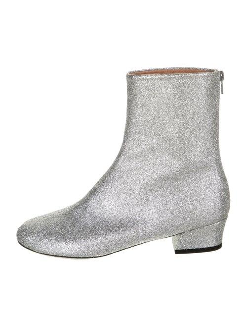 Dries Van Noten Boots Silver