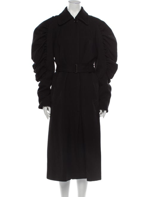 Dries Van Noten Trench Coat w/ Tags Black