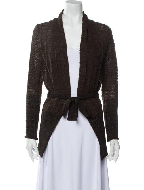 Dries Van Noten Vintage Alpaca Sweater Brown