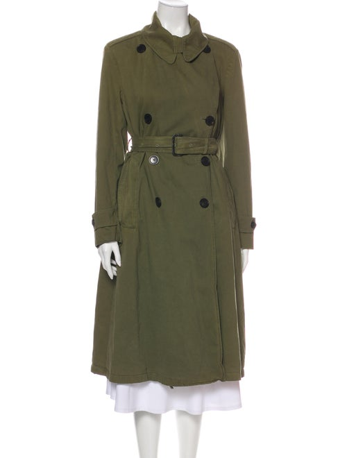Dries Van Noten Trench Coat Green