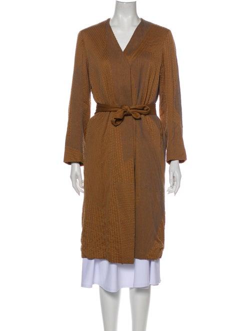 Dries Van Noten Coat Brown