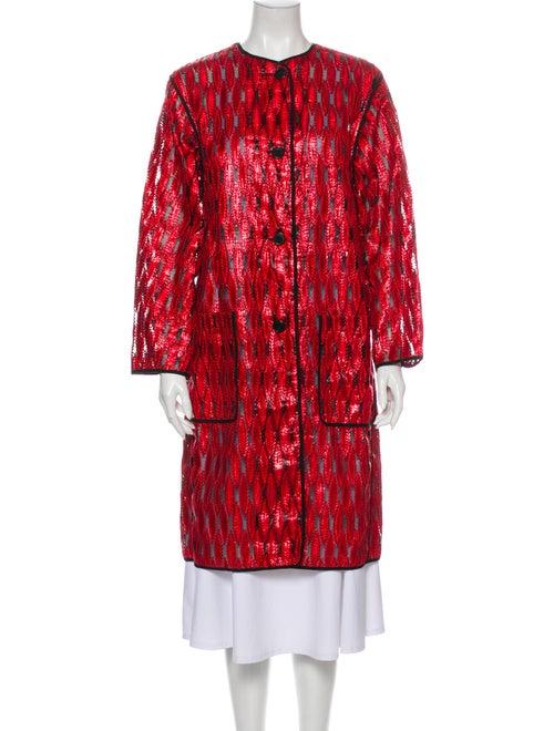 Dries Van Noten Coat Red