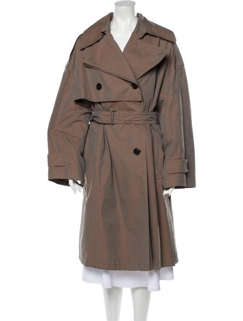Dries Van Noten Trench Coat Brown
