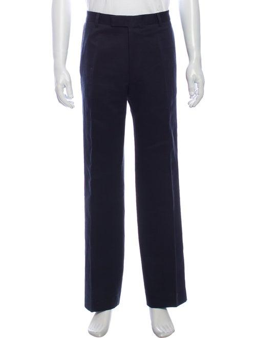 Dries Van Noten Dress Pants Blue