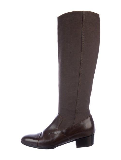 Dries Van Noten Riding Boots Brown
