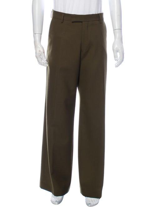 Dries Van Noten Dress Pants Green