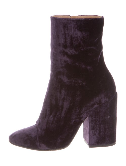Dries Van Noten Boots Purple