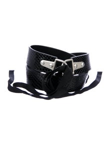 Dries Van Noten Leather Waist Belt