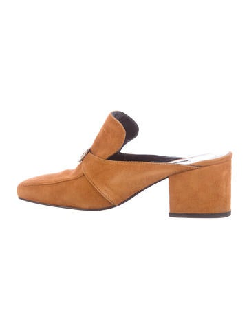 pre order for sale where can i order Dorateymur Suede Square-Toe Mules outlet original cheap sale outlet store outlet great deals iFarh