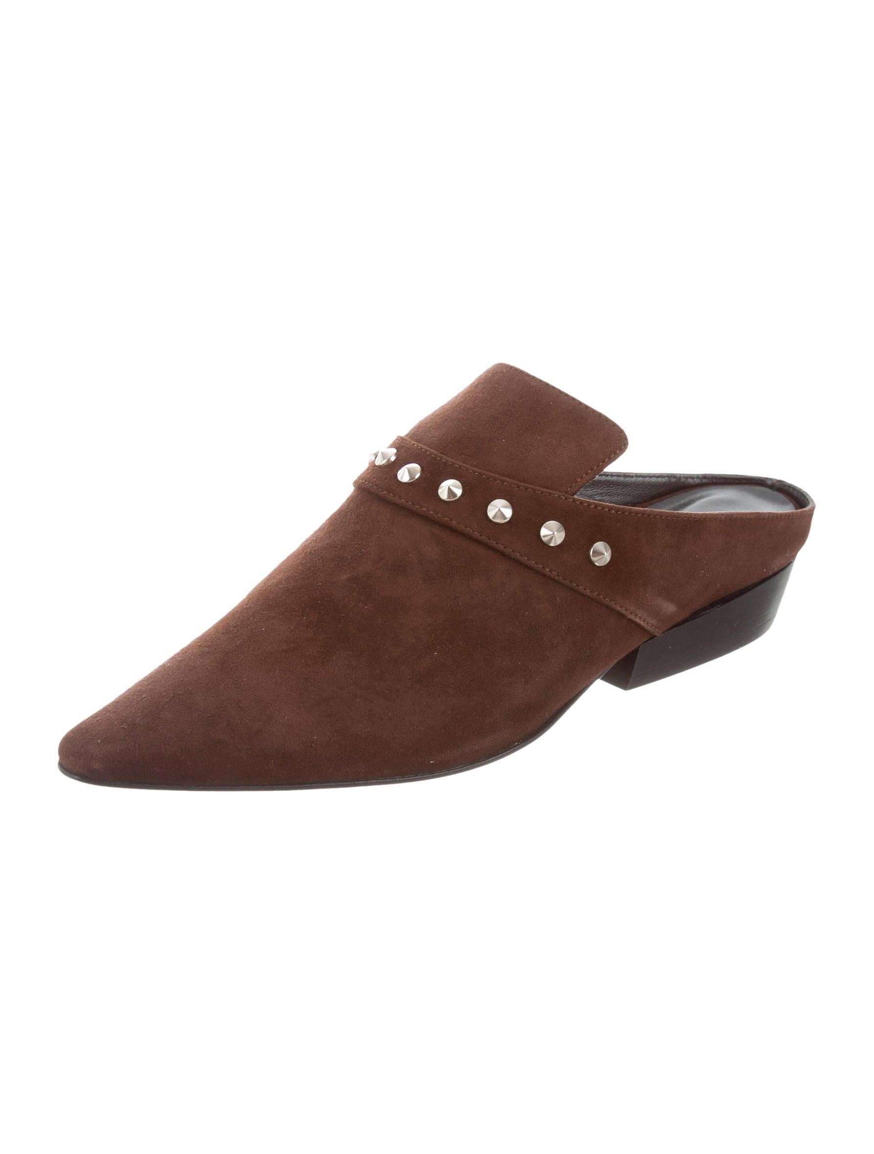Dorateymur Suede Spiked Mules w/ Tags online cheap authentic for sale under $60 ZMLob