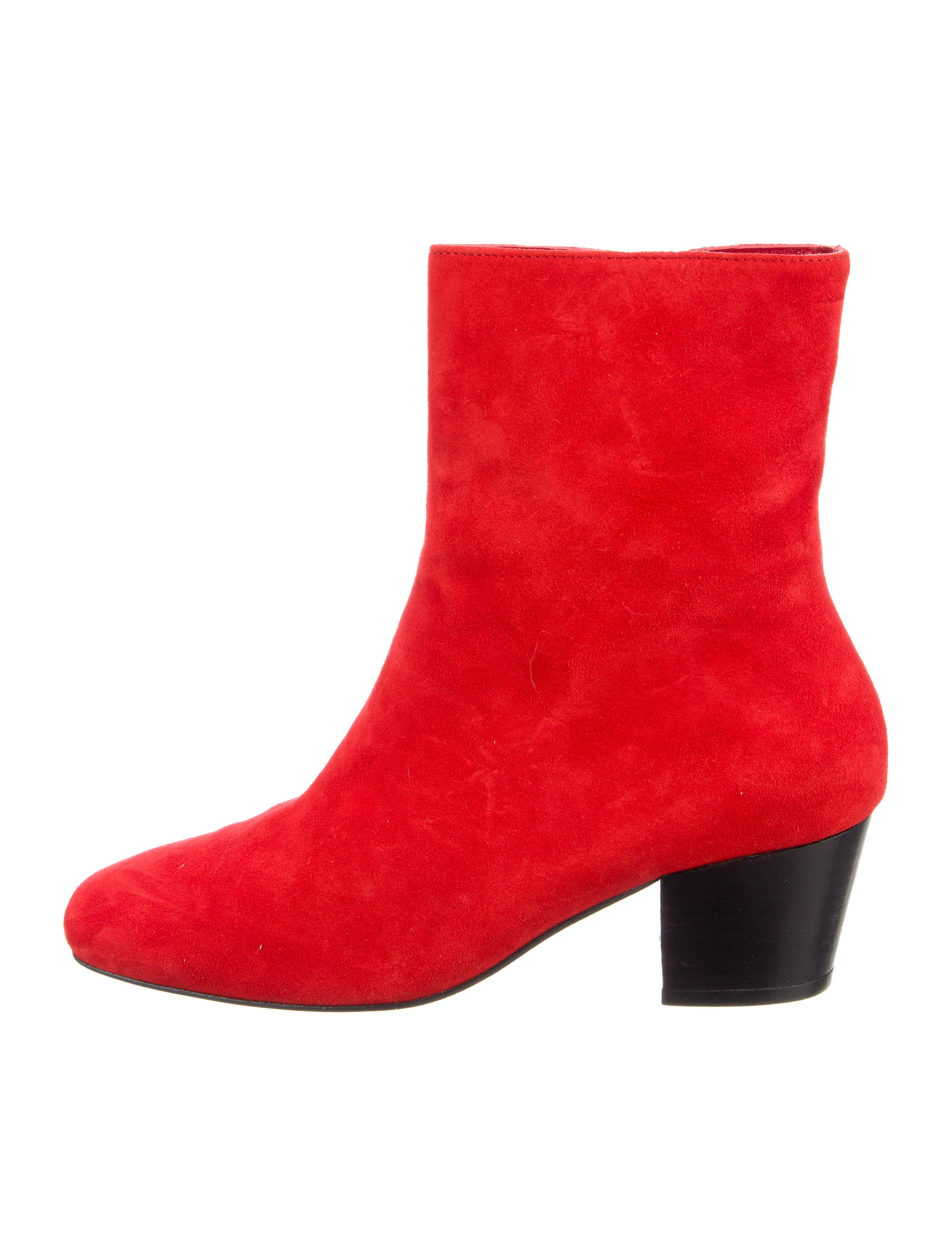 Dorateymur Droop Nose Suede Ankle Boots w/ Tags sale footaction discount 2014 outlet wide range of discount best RlCYDlD