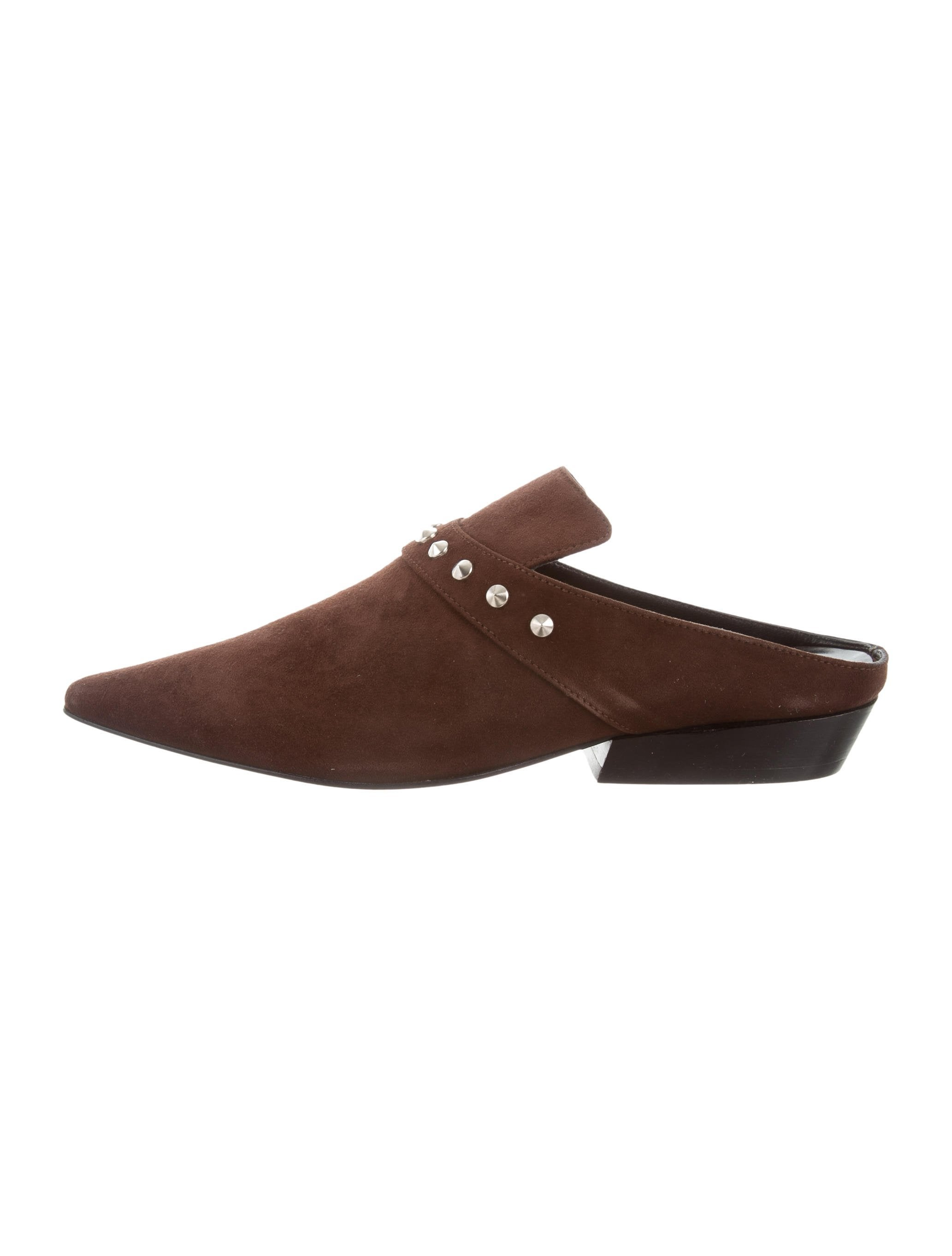 Dorateymur Suede Spiked Mules w/ Tags outlet supply LjCQvZ