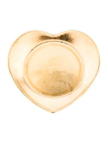 Philippe deshoulieres carat gold heart canape plate for Philippe deshoulieres canape plates