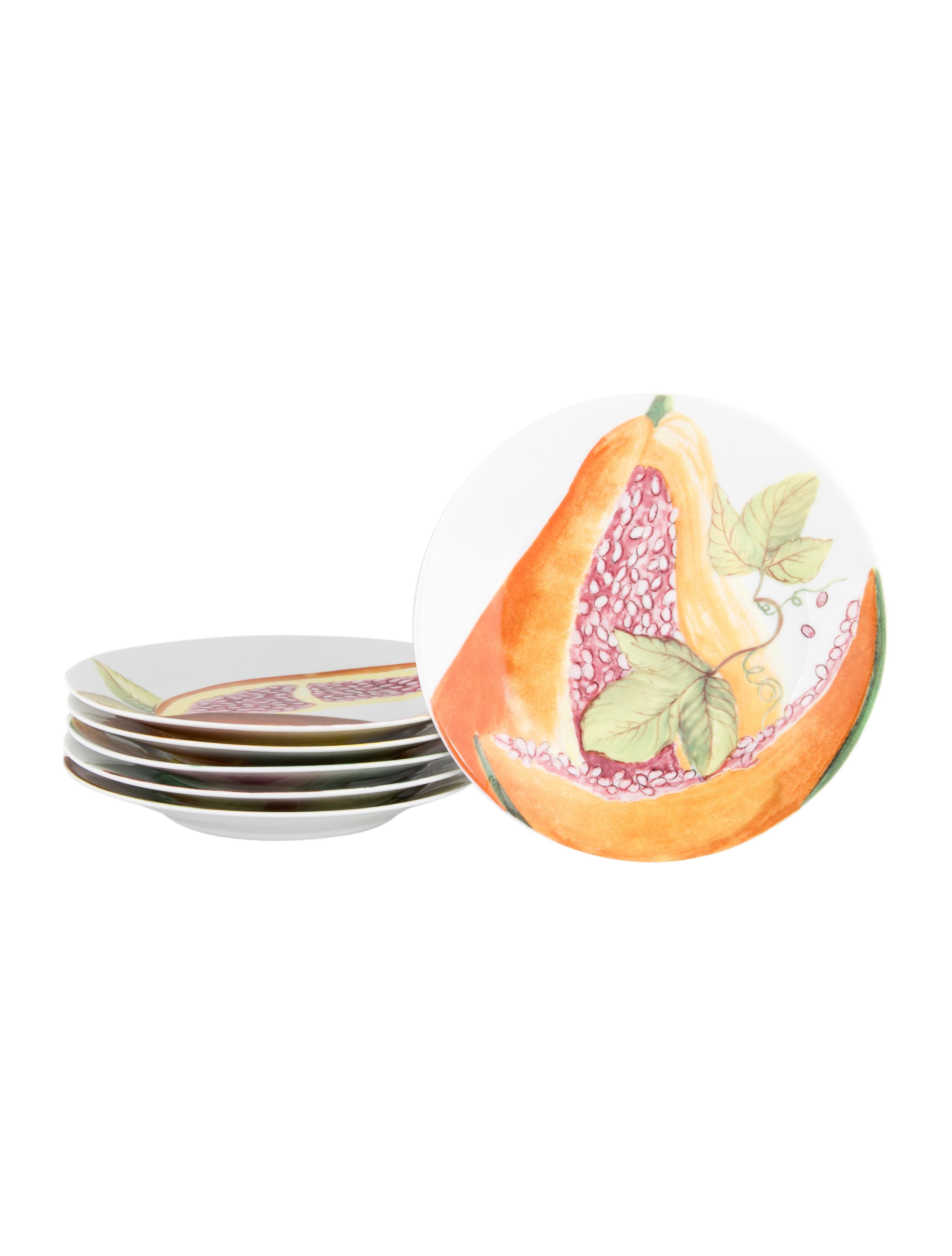 Philippe deshoulieres fruits exotiques canape plates for Philippe deshoulieres canape plates