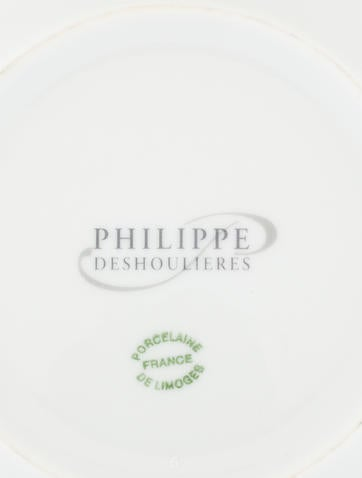 Philippe deshoulieres metallic canape plates tabletop for Philippe deshoulieres canape plates
