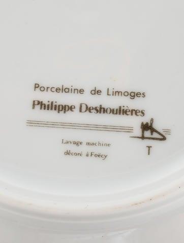 Philippe deshoulieres 11 piece canape plates tabletop for Philippe deshoulieres canape