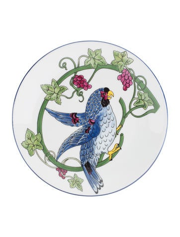 Philippe deshoulieres set of 4 jungle animal canap dishes for Philippe deshoulieres canape plates
