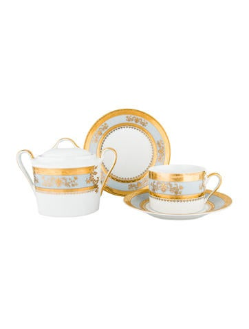 Philippe Deshoulieres 16-Piece Orsay Tableware Set None
