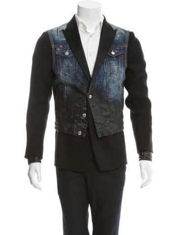 Dsquaredu00b2 Tux Denim Jacket - Clothing - DSQ23421 | The RealReal