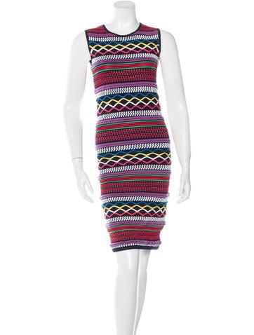 Dsquared² Jacquard Knit Dress None