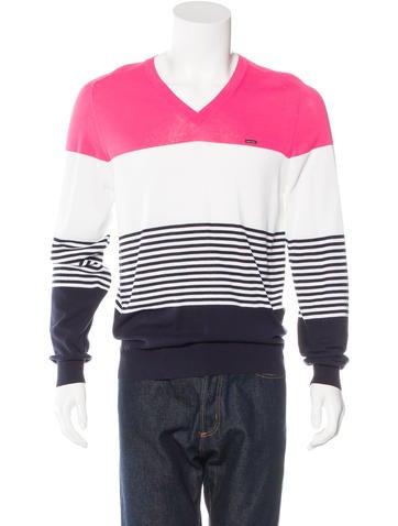 Dsquared² Colorblock Striped Sweater w/ Tags None