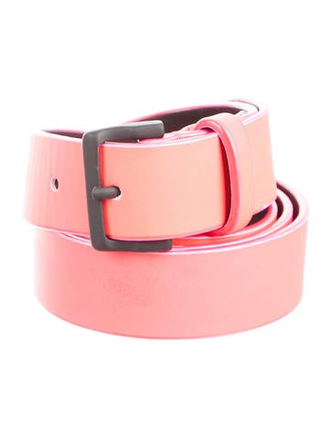 Dsquared² Textured Leather Belt None