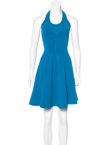 Dsquared² Halter Mini Dress None