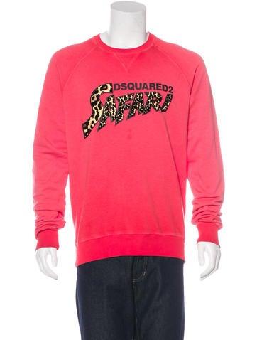 Dsquared² Safari Crew Neck Sweatshirt None