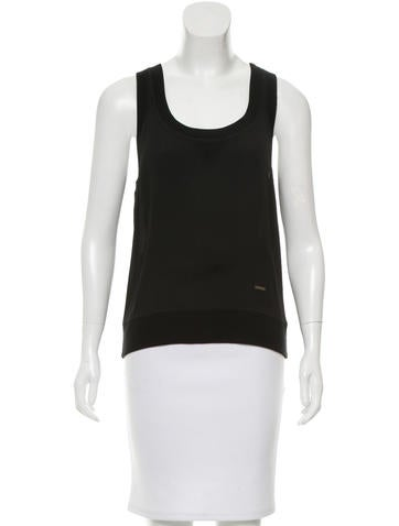Dsquared² Silk Sleeveless Top w/ Tags None