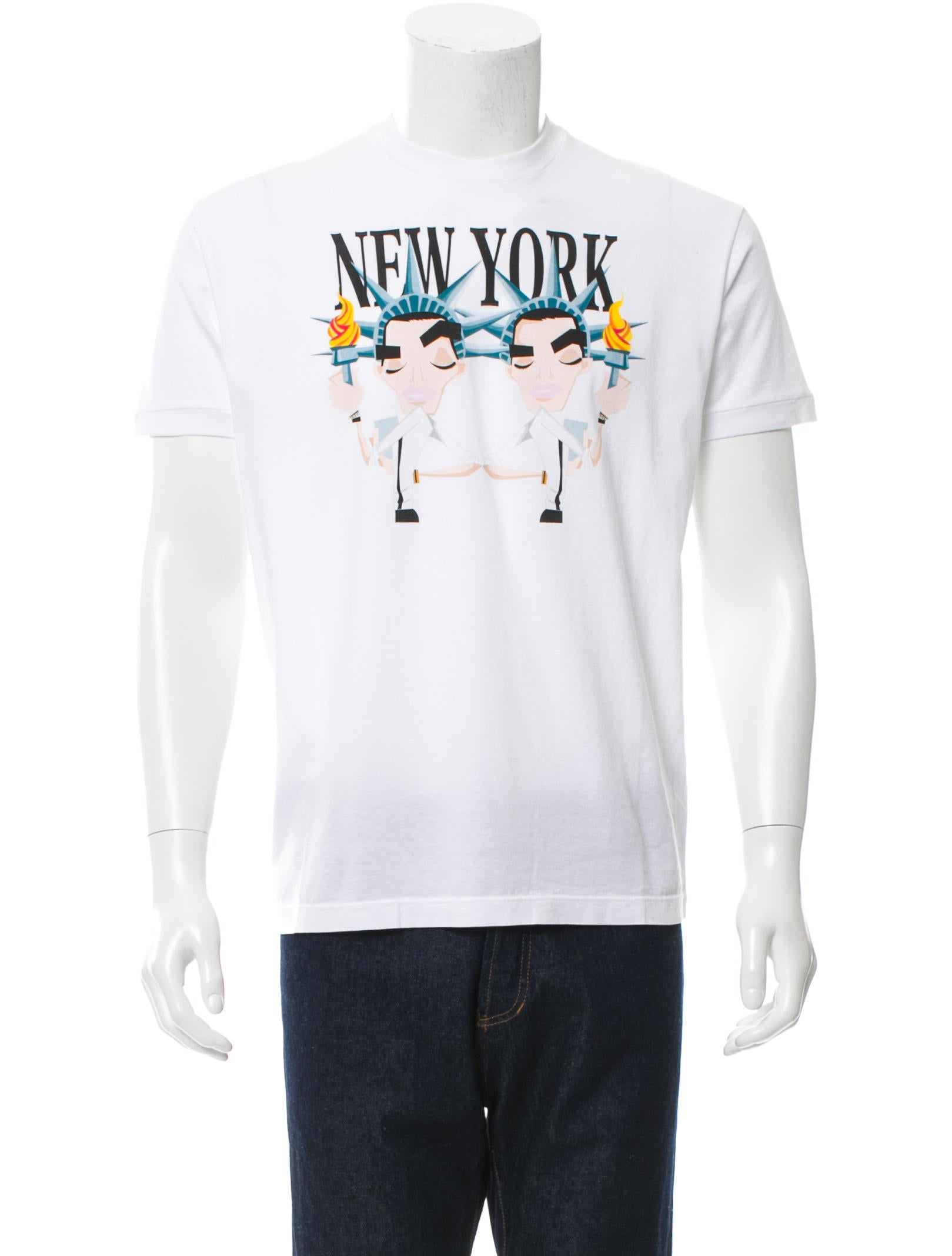 Dsquared new york graphic print t shirt clothing for New york printed t shirts