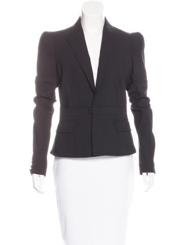 Wool Structured Blazer